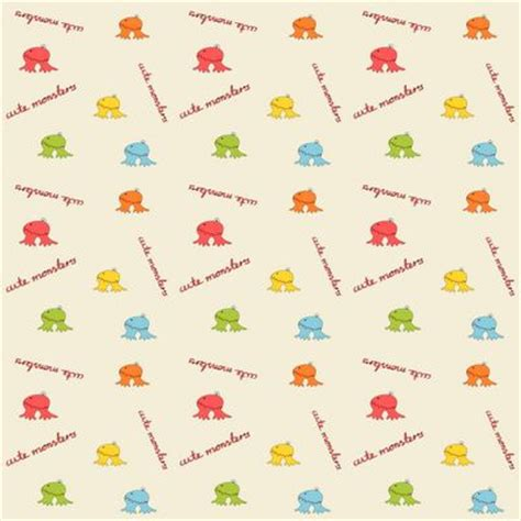 printable wrapping paper cute free digital scrapbooking paper with cute monsters