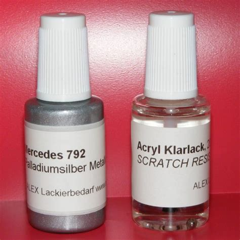 Lackstift Klarlack Polieren by Lackstift Mercedes Benz Mb 792 Palladiumsilber Met