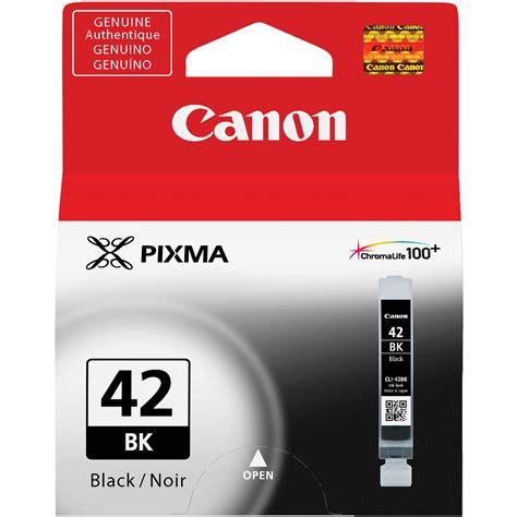 Canon Ink Cartridge Cli 42 Black For Pro 100 Canon Cli 42 Black Ink Cartridge 6384b002 B H Photo