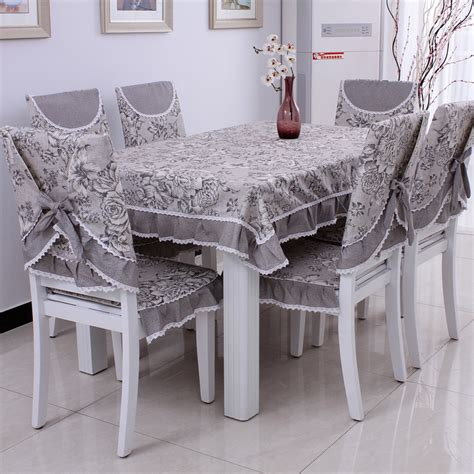 Dining Table Chair Covers Dining Table Cloth Cushion Chair Covers Chair Pad Cushion Back Cover Single Pad Gremial