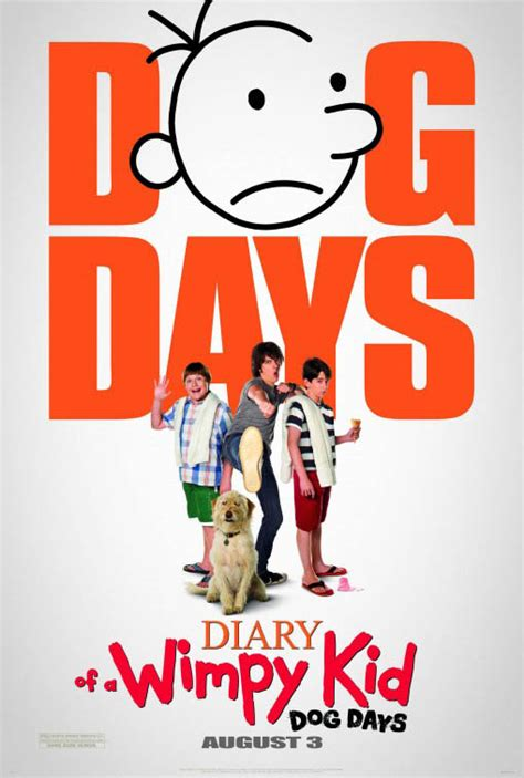diary of a wimpy kid days cast diary of a wimpy kid days on dvd synopsis and info