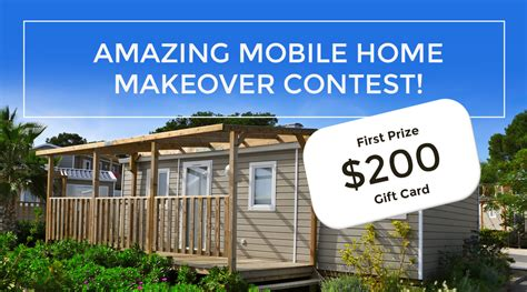 amazing mobile home makeover contest mobile home parts