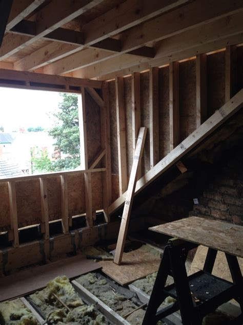 Inside Of My Dormer Loft Conversion Just Before Install Of
