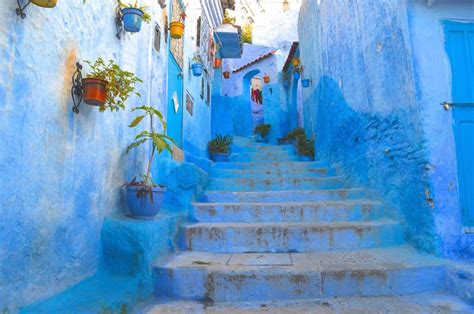 blue city morocco chair morocco s chefchaouen among world s best city skylines