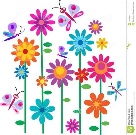 imagenes vacaciones de primavera flores y mariposas de la primavera fotograf 237 a de archivo