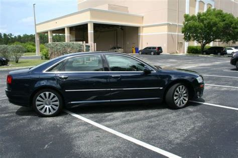 2007 Audi A8l For Sale by Purchase Used 2007 Audi A8l 4 2 Quattro Navy Blue 63 017