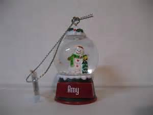 ganz glass snow globe snowman christmas decoration