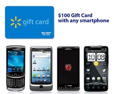 100 walmart gift card with smartphone purchase - Walmart Gift Card With Phone Purchase