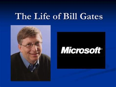 ppt on biography of bill gates bill gates microsoft plan i bill gates ii microsoft iii