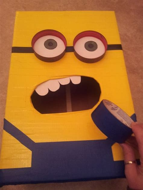 how to make a minion valentines day box despicable me minion valentines day box butter to work
