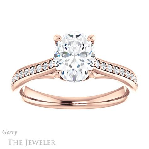 oval gold engagement ring setting gtj1238 oval r