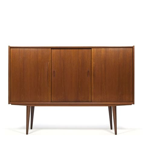 sixties meubelen danish vintage teak sixties sideboard retro studio