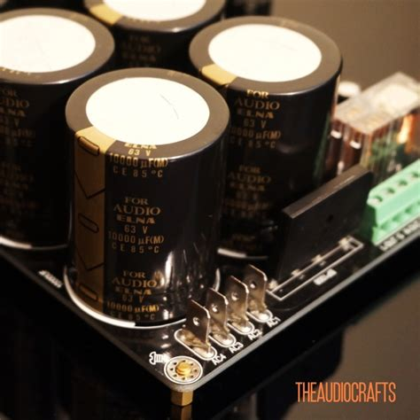 25a power supply with elna capacitors audiograde