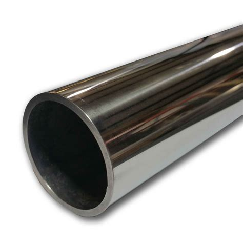 Pipa Stainless 2 Inch Polished Stainless Steel Pipe 1 1 2 Inch X 30 Quot Sch 10s