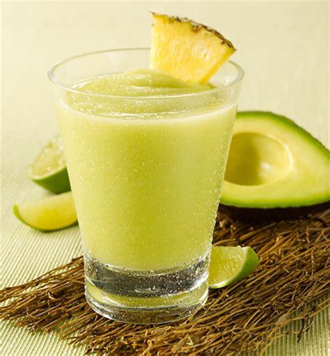 avocado pineapple smoothie | recipes squared