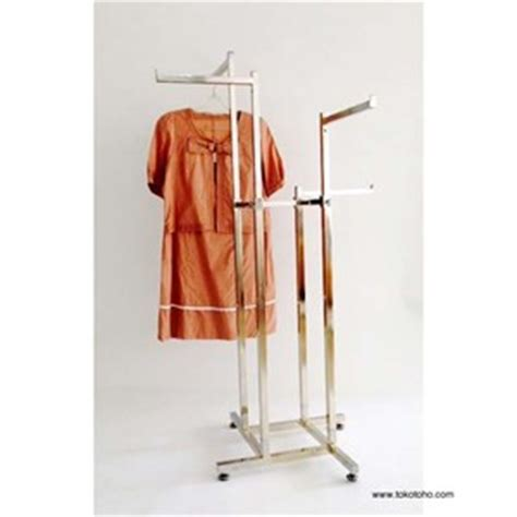 Rak Display Baju Anak jual rak baju 4 arah harga murah jakarta oleh toko toho