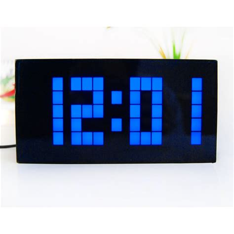 cool digital wall clocks large display big jumbo creative alarm clock light digital