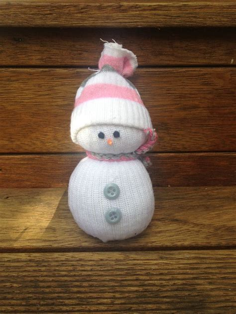 mini sock snowman christmas crafts pinterest minis
