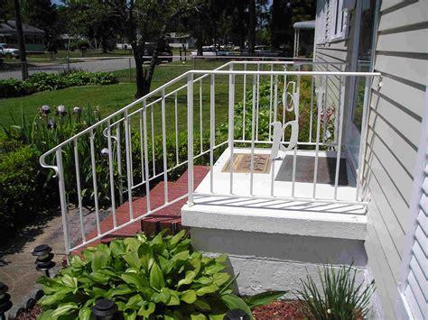 paint wrought iron porch railings design ideas
