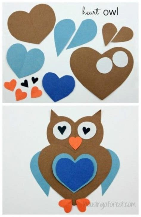 easy owl crafts for diy birds craft 24 easy paper owl craft ideas for
