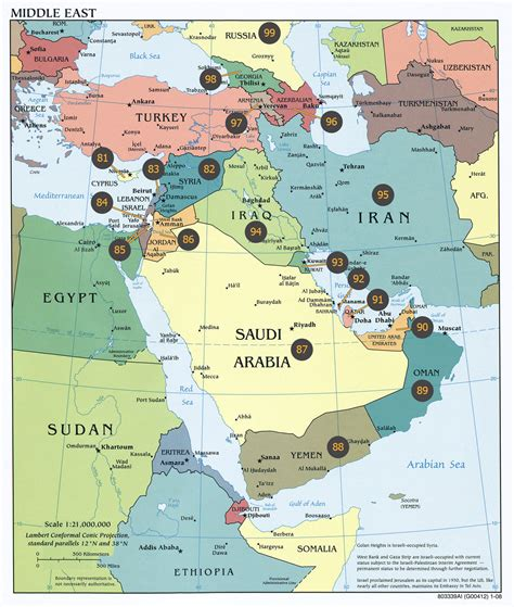 mideast map countries memory system for countries america europe and middle