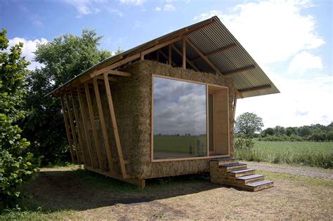 eco friendly house eco friendly house study with walls of packed straw