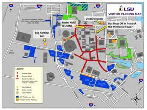 lsu football parking map lsu parking map world map 07