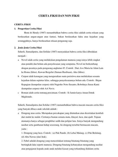 Contoh Cerpen Singkat Tentang Pengalaman Sendiri - Contoh Hu