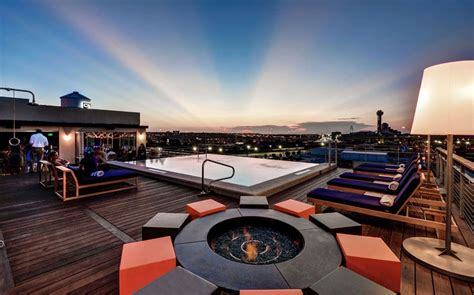 Roof Top Bars In Dc by Soda Bar At The Nylo Hotel Dallas America S Coolest