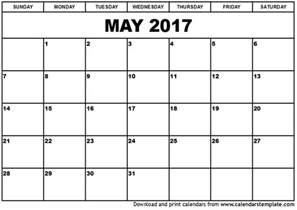 Calendar 2018 May June July May 2017 Calendar Template