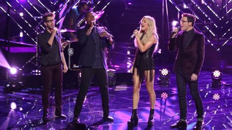 ellie goulding voice the voice recap three coaches take singers to the top 6
