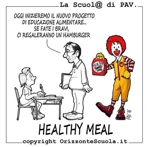 educazione alimentare scuola vignetta educazione alimentare orizzonte scuola
