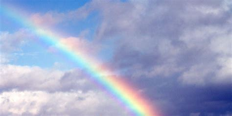 rainbow cloud rainbow in the clouds free twitter headers