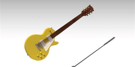 solidworks tutorial how to make guitar guitar catia 3d cad model grabcad