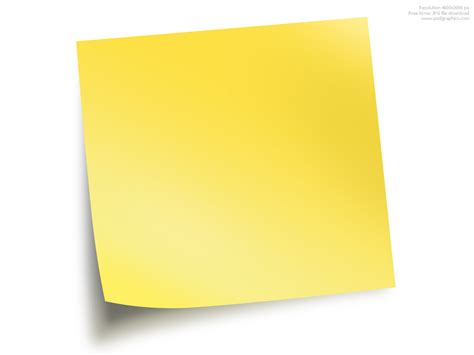 pad free sticky notepad clipart