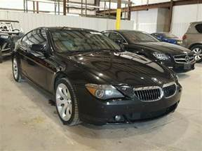 Bmw 645ci For Sale 2004 Bmw 645ci For Sale At Copart Lawrenceburg Ky Lot