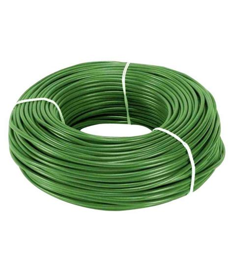 buy eon house wire green at low price in india