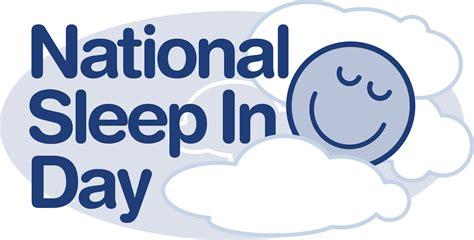 in sleep national sleep in day logo now available the sleep council