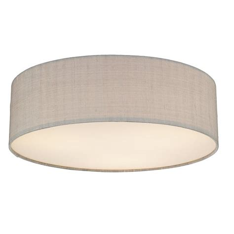 contemporary low ceiling light for modern setting silk