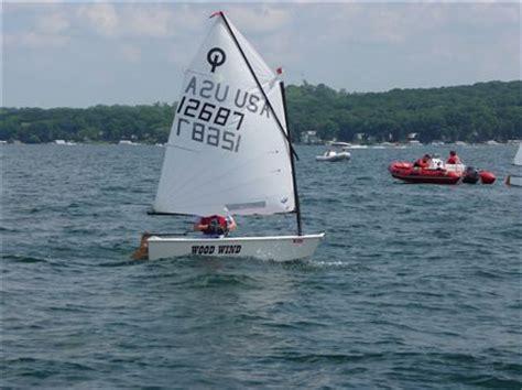 jacht optymist optimist fleet lake geneva yacht club