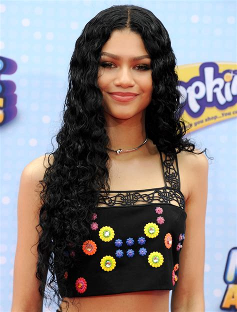 zendaya hair disney actress opens up about how she