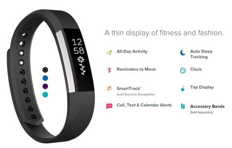Fitbit Alta Hr Fitness Wristband Smartwatch Tracker Black L fitbit alta wireless bluetooth fitness activity and sleep tracker black small ebay