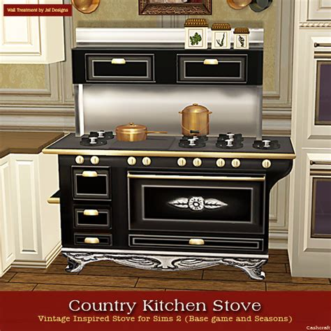 country kitchen stove may 24th sims 2 country kitchen stove set