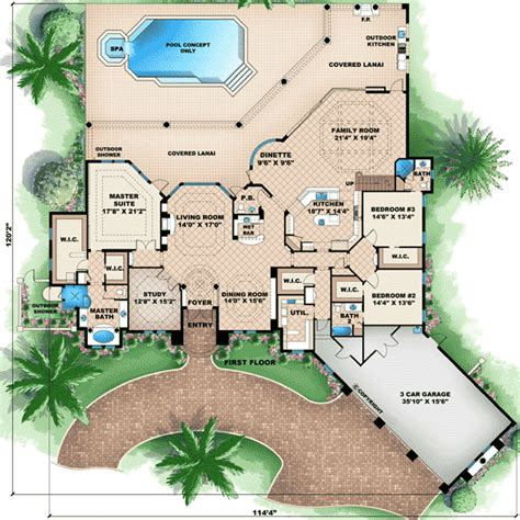 entertaining house plans great entertaining 66275we architectural designs house plans