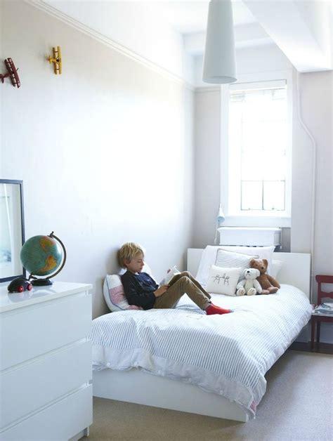 ikea malm bed white boys room apartment ezra