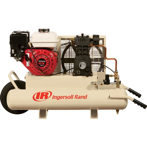 shipping ingersoll rand gas portable air compressor