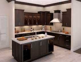 Best Idea Of Inexpensive Backsplash L Shaped Dark Brown Wooden Kitchen Cabinet And Rectangle