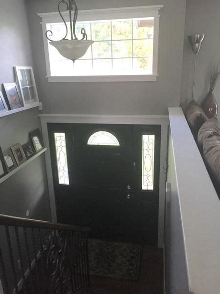 split level entryway split level foyer and stairs remodel my diy www kim