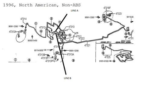 1999 honda civic diagram showing brake line toyota corolla fuel system engine diagram and wiring diagram