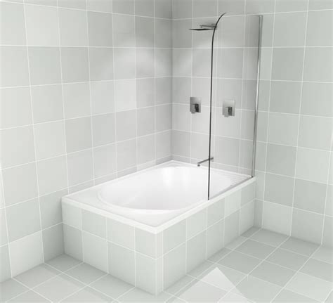 Baths With Shower Bath Screens Over Bath Shower Screens Pivot Panel By